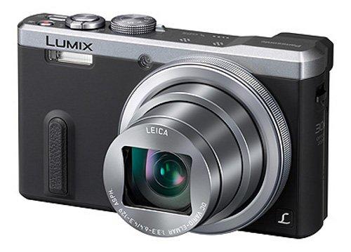 Panasonic LUMIX DMC-TZ61EG-S Travellerzoom Kamera (18,1 Megapixel, LEICA DC Weitwinkel-Objektiv mit 30x opt. Zoom, 3-Zoll LCD-Display, Full HD) silber
