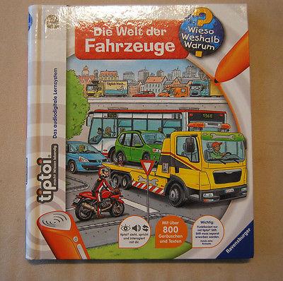 tiptoi Buch Die Welt der Fahrzeuge Wieso, Weshalb, Warum? v. Ravensburger