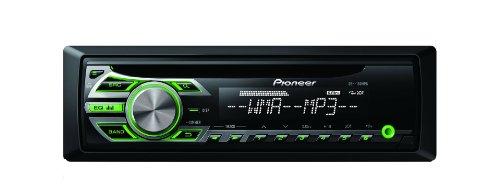 Pioneer DEH-150MPG CD-Tuner (Direkt Front AUX-IN, 4x 50 Watt, Displaybeleuchtung weiß, Tastaturbeleuchtung grün)