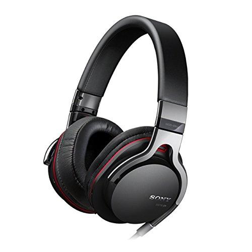 Sony MDR-1RNC Noise Cancelling-Kopfhörer mit Mikrofonkabel für Apple iPod/iPhone/iPad schwarz