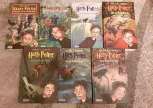 Harry Potter 1 - 7 Gebunden