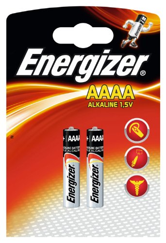 Energizer 638912 - Batterie Max AAAA / Piccolo / E96 2er Pack