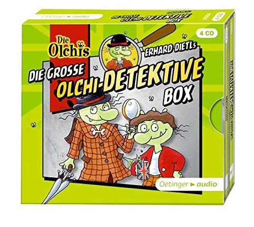 Die große Olchi-Detektive-Box (4CD): Hörspielbox mit 4 Folgen Olchi-Detektive