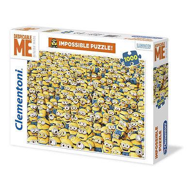 Clementoni Minions Impossible Puzzle Minion 1000 Tlg - Minions Puzzle OVP & NEU