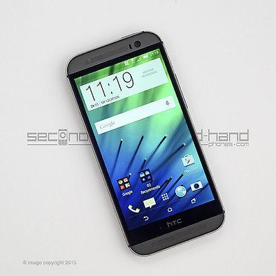 HTC One M8 16GB Gunmetal Grey Unlocked Smartphone