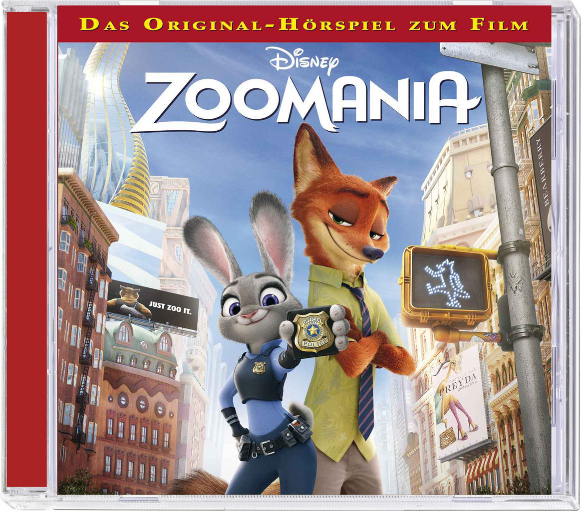 Disney: Zoomania (Hörspiel zum Film / Kinofilm) - CD - *NEU*