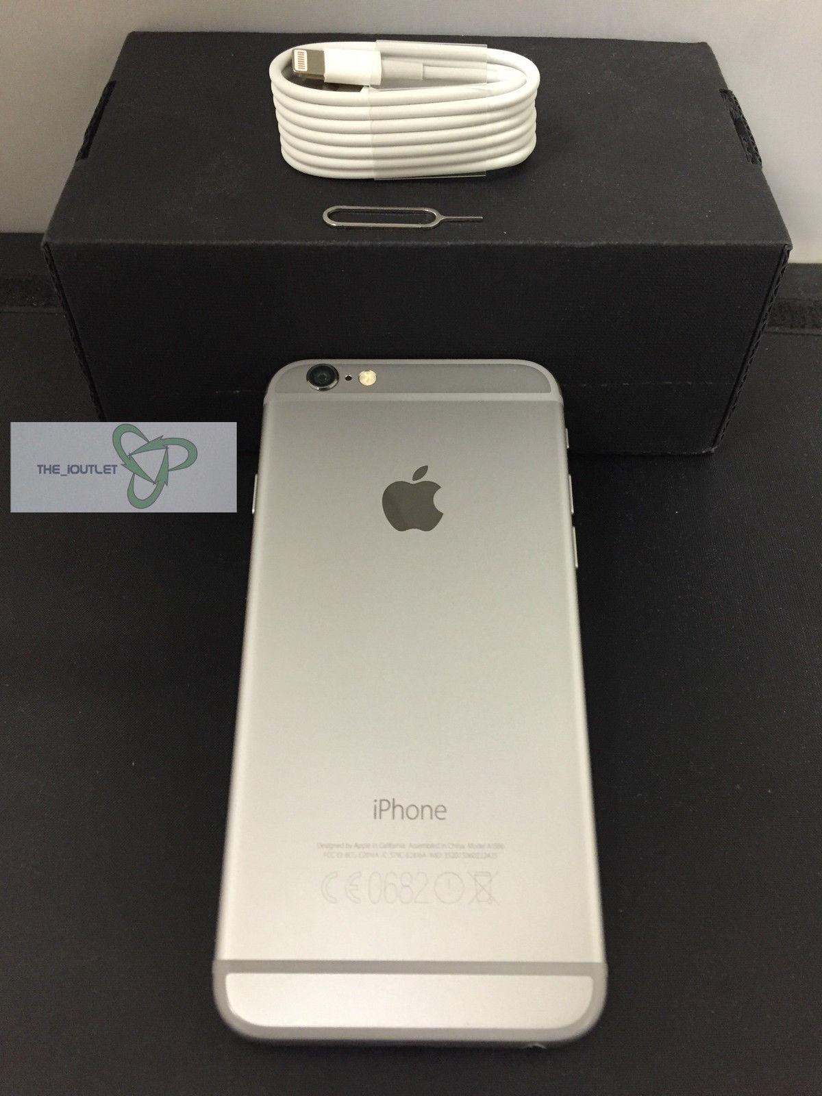 Apple iPhone 6 - 16 GB - Silver- Unlocked-Good Condition