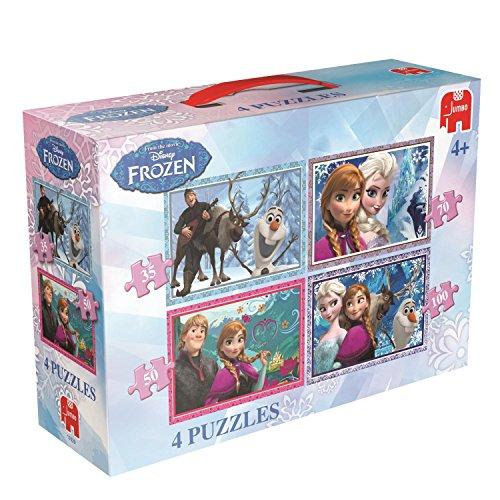Disney 17429 - Frozen 4-in-1 Puzzle