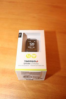 Tomtom Spark Cardio large 24/7 Tracking GPS Herzfrequenz schwarz