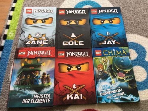 Lego Ninjago Bücher, Kai, Kay, Cole, Zane, Meister Der Elemente