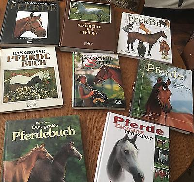 33 Pferdebücher, Paket, Konvolut, Sammlung, Pferde, Reiten, Monty Roberts