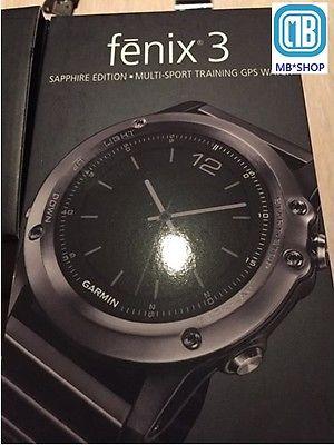 Garmin Fenix 3 GPS- Sportuhr Bluetooth