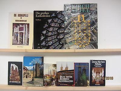 38 Bücher Hefte Kirchen Klöster Abteien Kathedralen Kapellen Kloster Dome