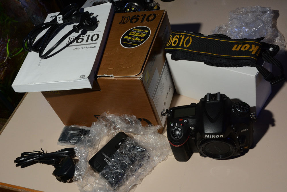 Nikon D610 sehr guter Zustand in OVP / used, good condition in original Box