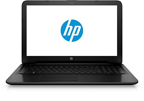HP Einsteiger (15-ac125ng) (15,6 Zoll Full-HD Display), Notebook (1000GB Festplatte (HDD), 8GB Flash-Speicher, 8GB Arbeitsspeicher, DVD-Brenner und Windows 10) schwarz