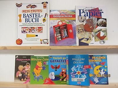 105 Bücher Hefte Basteln Bastelbücher Bastelhefte  Windowclolor