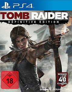 Tomb Raider - Definitive Edition - PS4 - originalverpackt