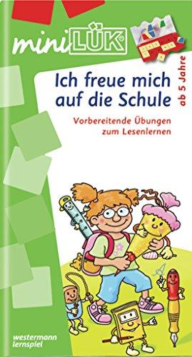 miniLÜK: Ich freue mich auf die Schule 1: Buchstaben - akustische Differenzierung - visuelle Wahrnehmung für Kinder ab 5 Jahren