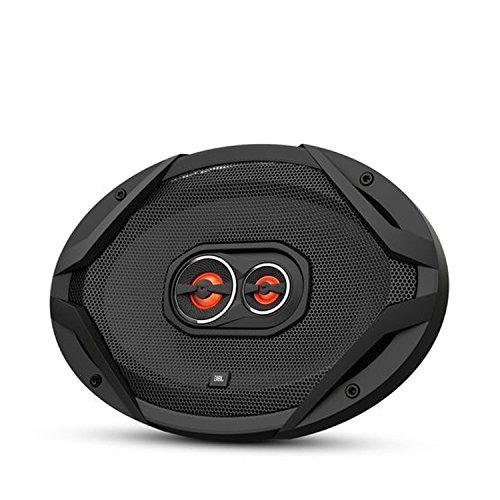 JBL GX963 3-Wege Auto-Hifi Lautsprecher mit Lautsprecherabdeckungen (1 Paar) schwarz