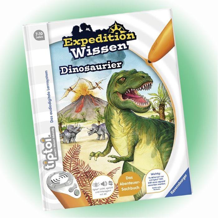 RAVENSBURGER tiptoi® - Expedition Wissen - Dinosaurier - NEU