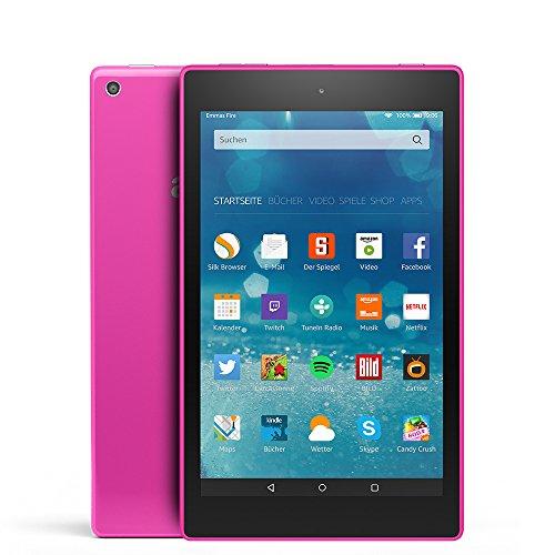 Fire HD 8-Tablet, 20,3 cm (8 Zoll), HD-Display, WLAN, 16 GB (Magenta) - mit Spezialangeboten