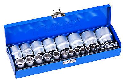 Zoll Werkzeug Harley Nüsse 24-tlg. Steckschlüssel Satz Nusskasten Stecknüsse Nuß