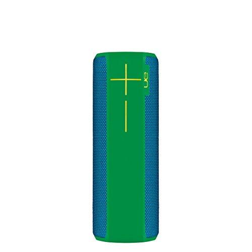UE BOOM 2 Lautsprecher (Bluetooth, Wasserdicht, Schlagfest) blau/grün