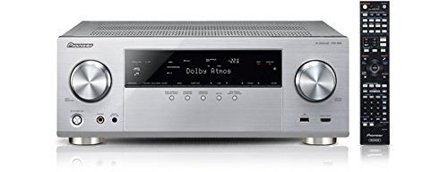 Pioneer VSX-930-S 7.2 Netzwerk-Mehrkanal Receiver (165 Watt Pro Kanal, Dolby Atmos, WiFi, Bluetooth, Ultra-HD Video Scaler, HDCP 2.2, App Steuerung, Airplay, DLNA, Internetradio, Spotify Connect) silber