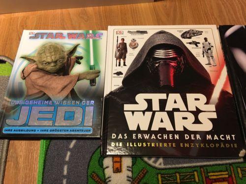 8 Bücher, Sammlung Star Wars, Lego, Ninjago, Das Erwachen der Macht,Lexikon,Jedi
