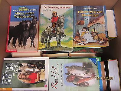 63 Bücher Jugendbücher Pferderomane Pferdebücher Pferdeabenteuer Jugendromane