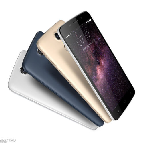 5.5 Zoll HOMTOM HT17 Android 6.0 4G LTE Handy Dual SIM Smartphone Ohne Vertrag