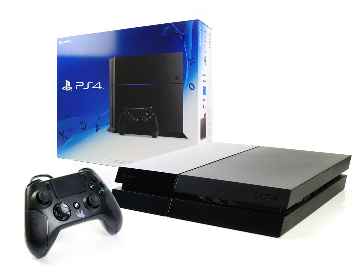 SONY PS4 Konsole 1000GB+NEUEN Gator Claw Wired Controller Spielkonsole Black 1TB