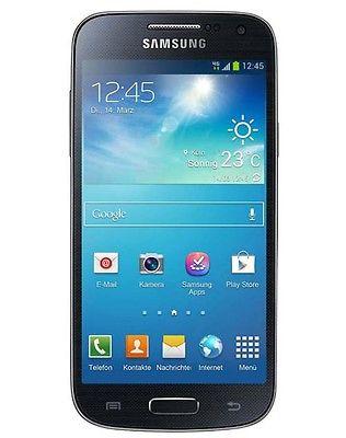 Samsung Galaxy S4 mini GT-I9195 8 GB - Black Mist Ohne Simlock Smartphone NEU