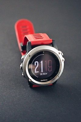 Garmin Fenix 3 Multisport Training GPS Watch Sportuhr OVP TOP!!