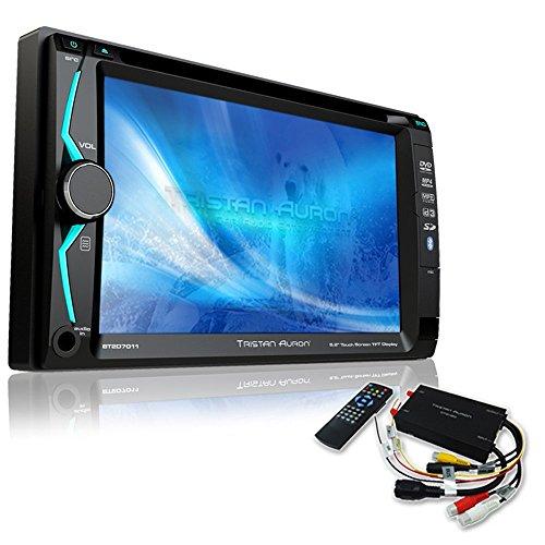 Tristan Auron BT2D7011 Autoradio + DVB-T Box   6,2'' Touchscreen   Freisprechfunktion   SD/USB-Slot   CD/DVD   2 DIN