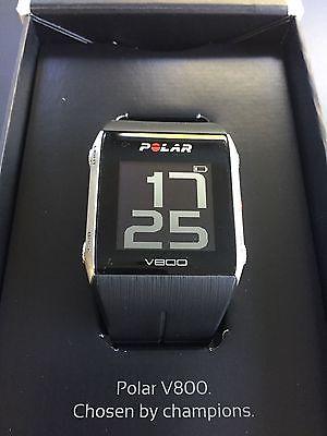 Polar V800 HR GPS Sportuhr / Trainingscomputer WIE NEU! mit Brustgurt