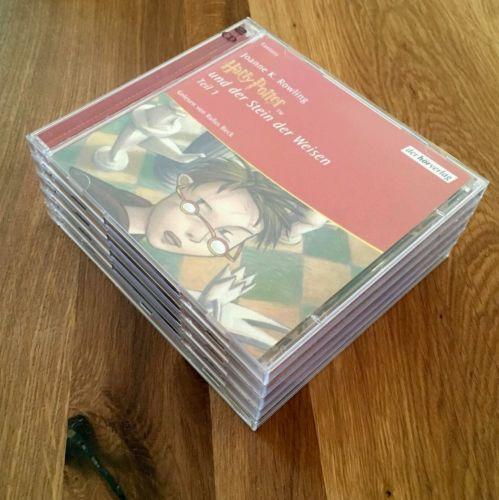 Hörbuch CD Harry Potter und der Stein der Weisen 9 CDs