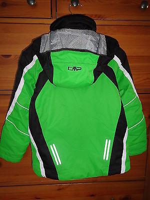 CMP Clima Protect Winterjacke/Skijacke Gr. 128/134, grün, TOP