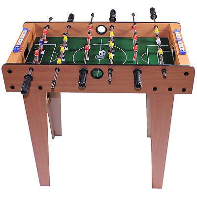Mini Kicker Fussballtisch 70x36x66 Kickertisch Tischfußball Fussballspiel Büro
