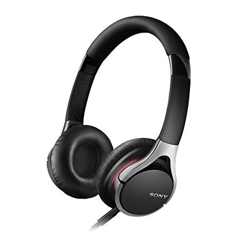 Sony MDR-10RC faltbarer High Resolution Kopfhörer (integrierte Fernbedienung mit Mikrofon, 100dB/mW) schwarz
