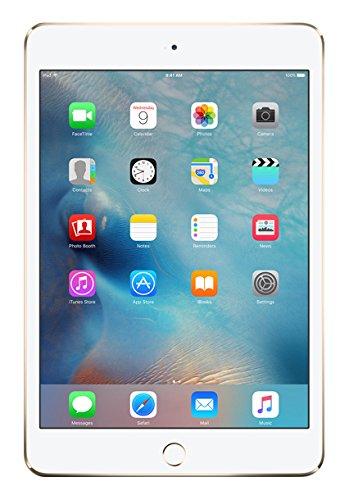 Apple iPad mini 4 20,1 cm (7,9 Zoll) Tablet PC (WiFi, 128GB Speicher) gold