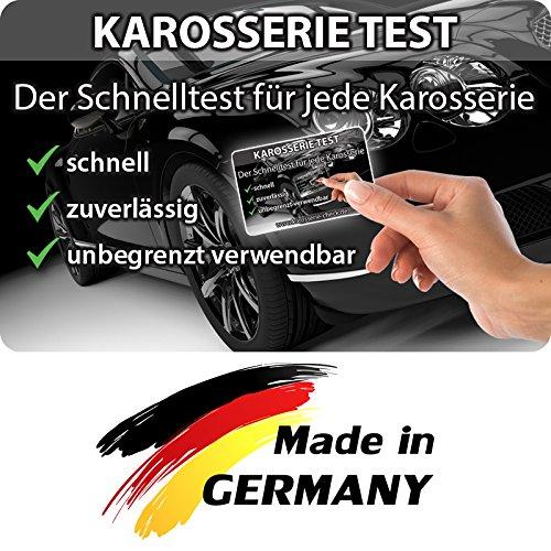 Grip Magnetkarte - Karosserie Test beim Autokauf, Lacktester, Spachtelprüfer für Karosserie Check, Auto Lack Tester oder Prüfer