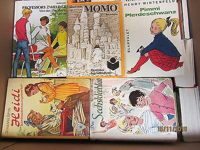 64 Bücher ältere Kinderbücher ältere Jugendbücher ältere Jugendromane Paket 1
