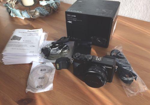 Panasonic LUMIX DMC-LX 100 16.8MP Digitalkamera - Schwarz
