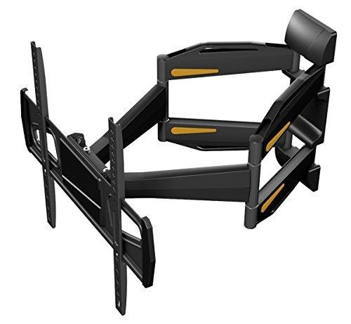 RICOO Fernsehhalterung S1844 Wandhalterung TV Schwenkbar Neigbar Halterung Wandhalter LED LCD Flachbild-Fernseher 76-140cm/30-42-50-55 Zoll