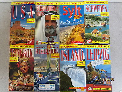 95  Bücher Taschenbücher Marco Polo Reiseführer  Reiseberichte