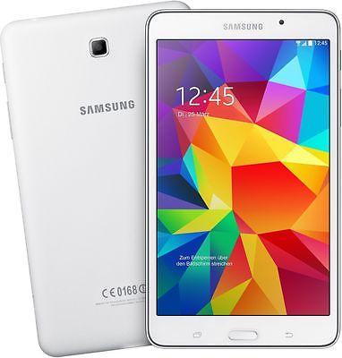Samsung GALAXY Tab 4 weiß SMT-T230 7 Zoll WIFI WLAN 8GB Android Tablet PC 3MPX