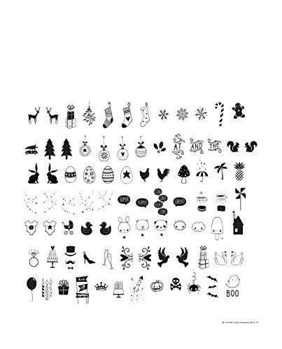 A little lovely Company - Ergänzungsset Celebrations - für alle Leuchtkästen - Inhalt: 85 Stück