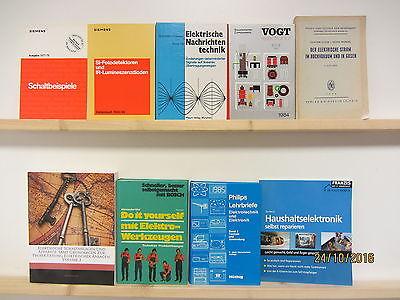 53 Bücher Elektrik Elektronik Haushaltselektronik Schaltbeispiele Elektrotechnik