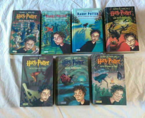 Harry Potter 1-7 Bücher